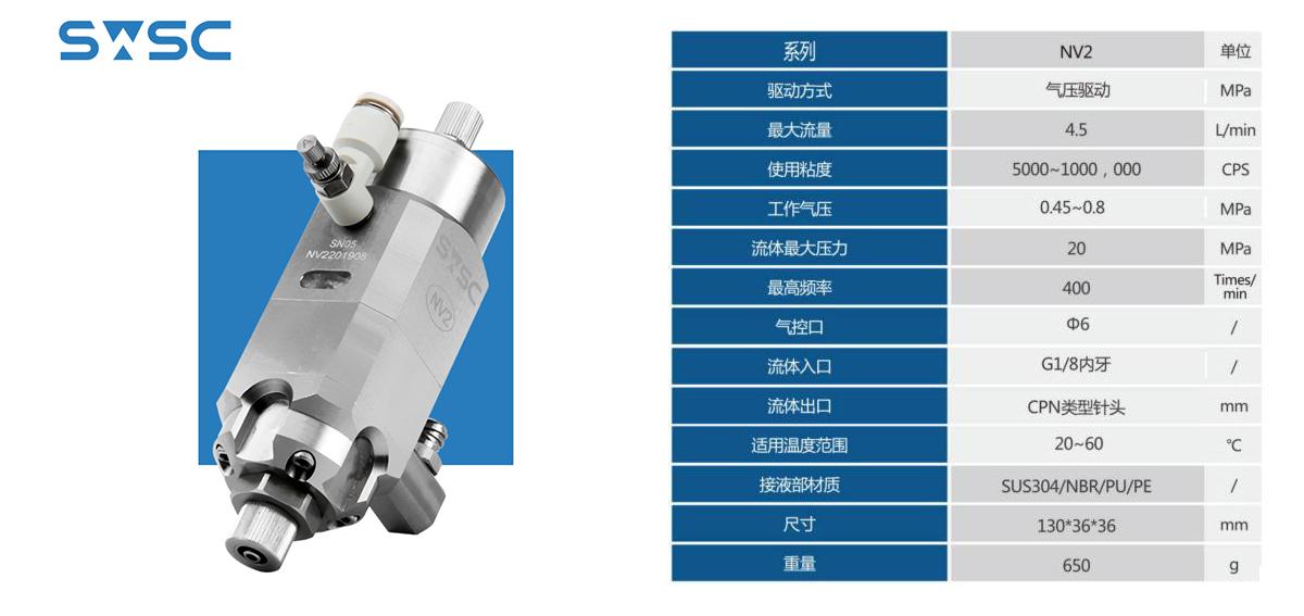 深微智控SWSC喷雾阀NV-2